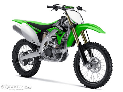 WALLPAPER  2010 Kawasaki KX250F and KX450F, specification
