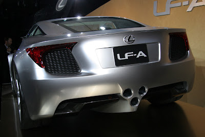 Lexus LF-A Concept pictures and specification