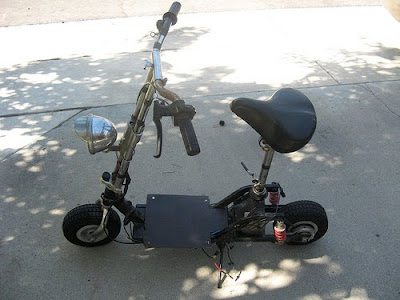 Motor Scooter Modification