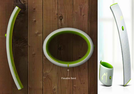 Wearable Solar-Powered Leaf Phone  specification