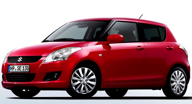 New Suzuki Swift Breaks Cover gambar, video car new