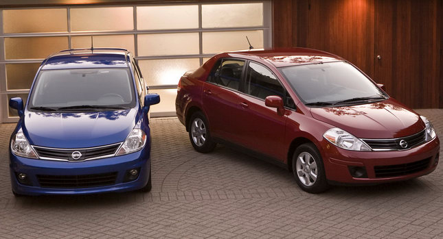 Nissan Versa Sedan and Hatchback Models wallpaper