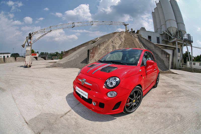 Pogea Racing Tunes Fiat 500 Abarth Ferrari Dealers Edition to 264HP