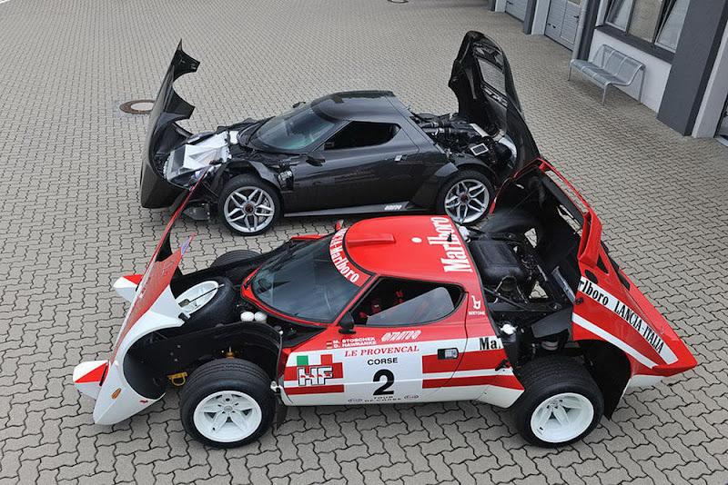 2010 New Lancia Stratos spyshoot