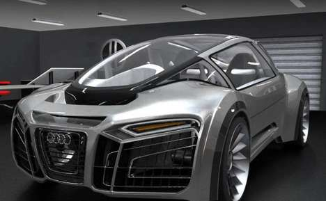 The Audi Hydron  Amphibious Super Cars
