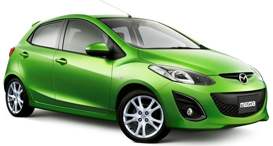 car 2011 New Mazda2 Facelift