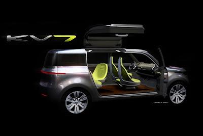 2011 Detroit Auto Show Kia KV7 Concept