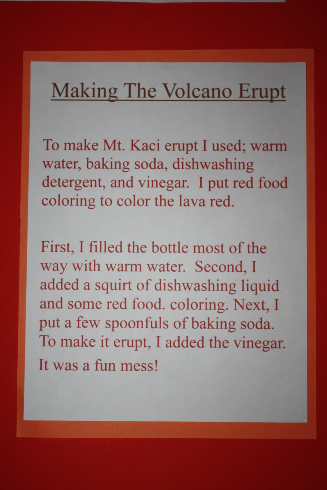 how to make the volcano erupt hearthstone