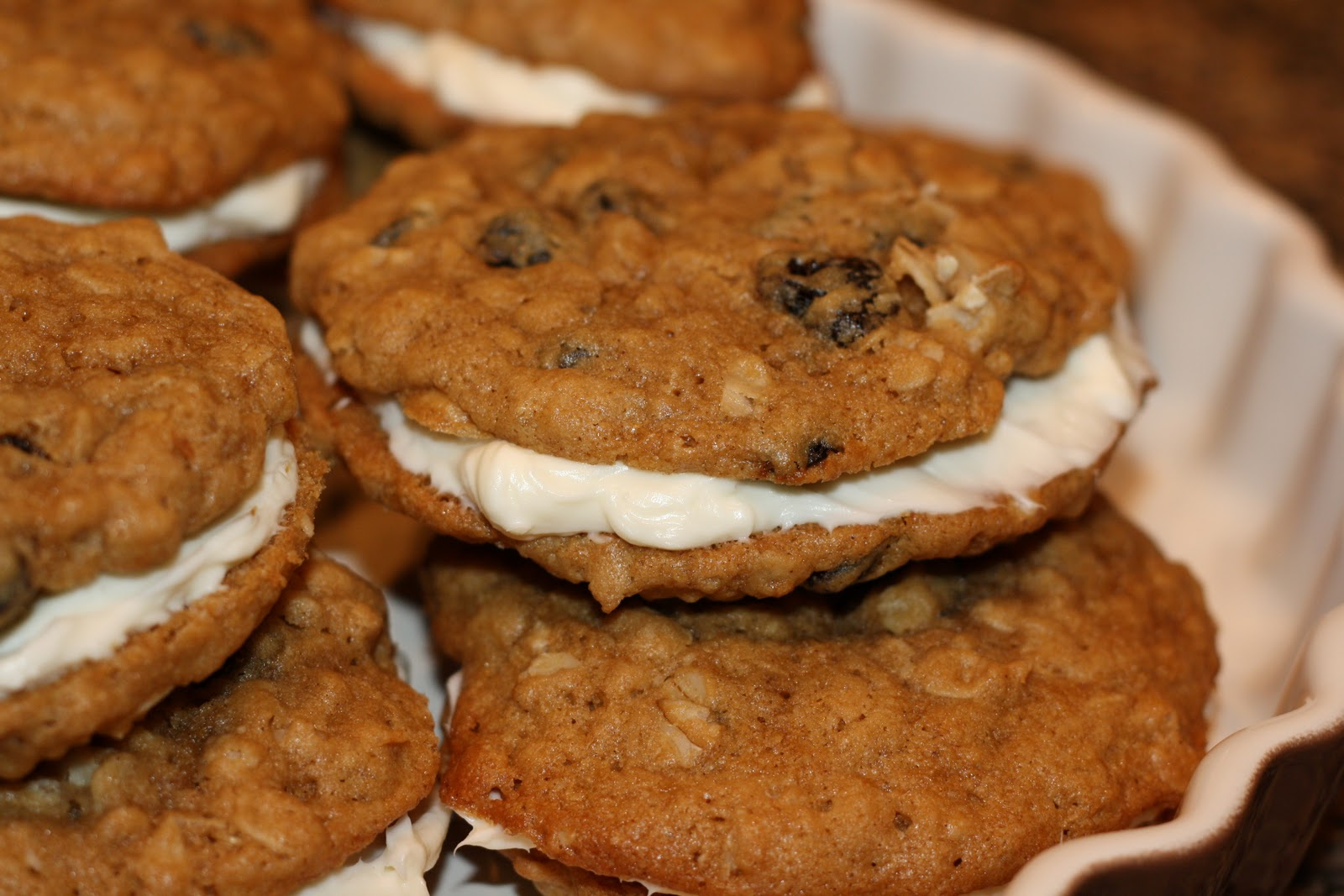 sunday sweets: oatmeal cream pies