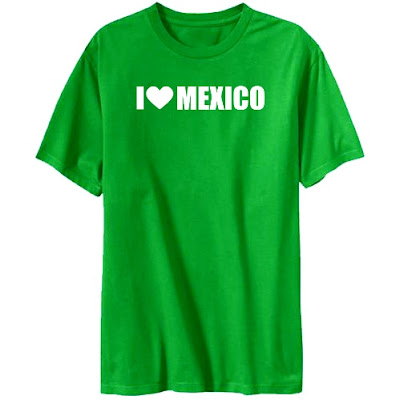I love Mexico - T-Shirt
