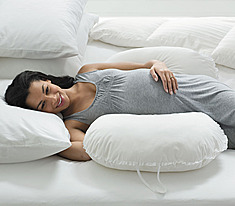 Life More Simply Sleep Number Maternity Pillow Review: the more pillows you sleep with