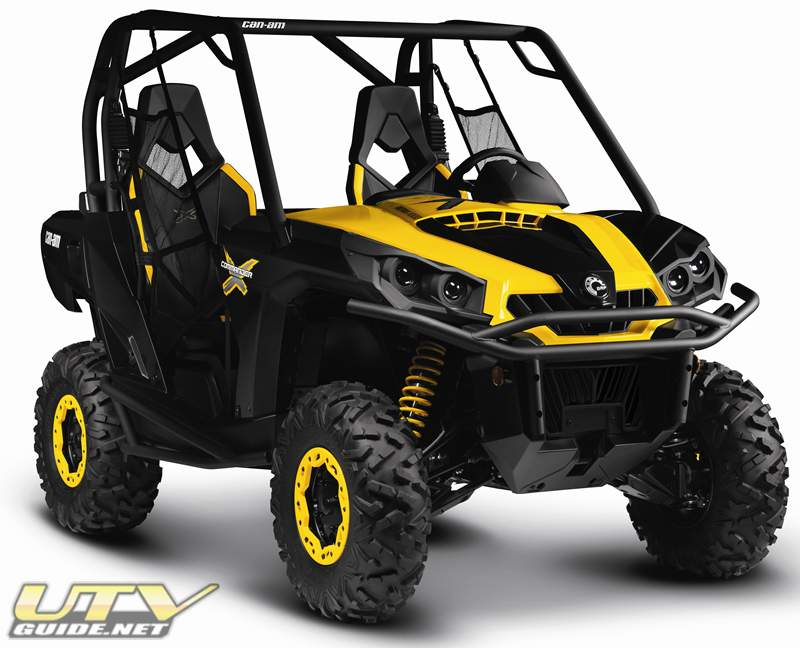 Can Am Commander 1000 X Is The Top Of The Line Of Side By Sides