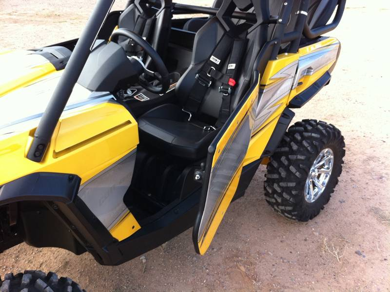 The new TCB doors are a great way to add style and extra safety to your Can-Am Commander. The doors open and close with a spring loaded latch allowing you ... & Doors Now Available for the Can-Am Commander from TCB - UTV Guide