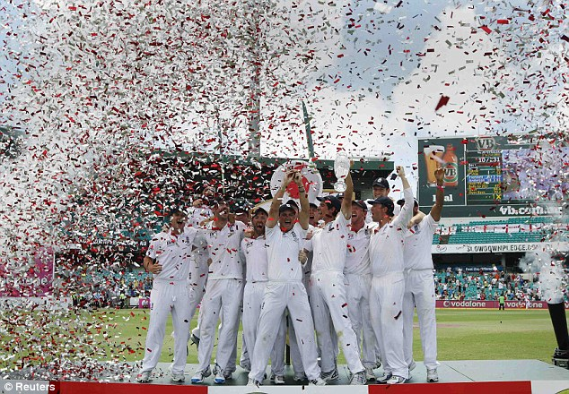 The ashes 2010-