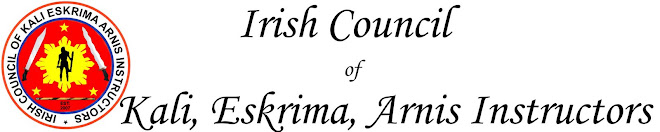Irish Council of Kali, Eskrima, Arnis Instructors