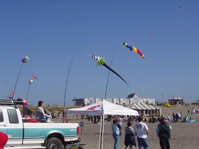 Summer Kite Festival in Long Beach, Washington