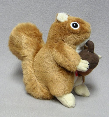 Stuffed Audubon Birds Squirrel