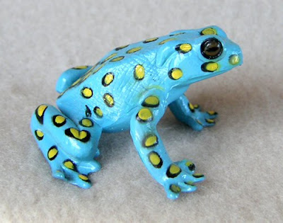 Plastic Tropical Frog