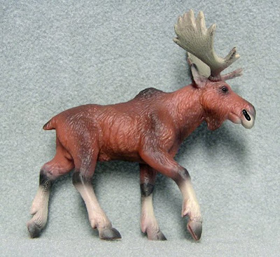 Plastic Moose Replica