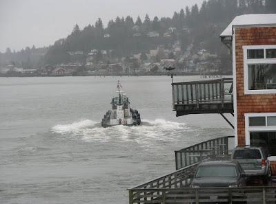 The Pilot Boat at Astoria, Oregon
