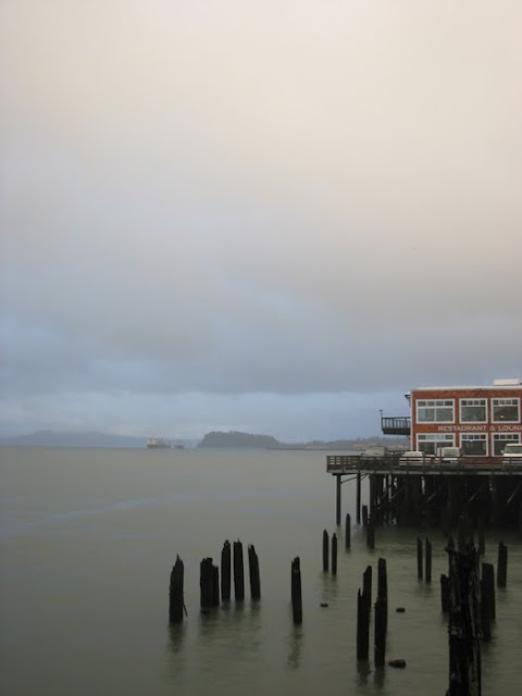 A Columbia River View from Pier 11
