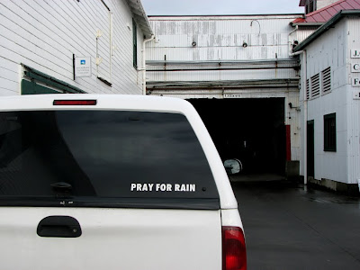 The Sign Says Pray for Rain