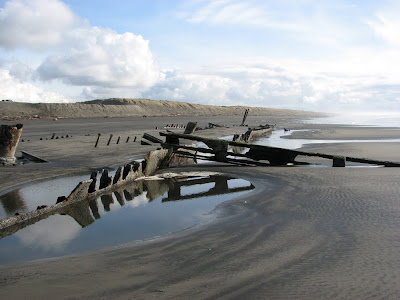 Wreck of the Peter Iredale, Fort Stevens, Oregon