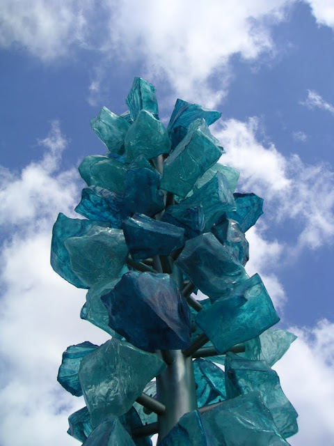 Dale Chihuly sculpture on the Bridge of Glass, Tacoma