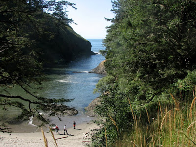 Deadman's Cove, Cape Disappointment, Washington