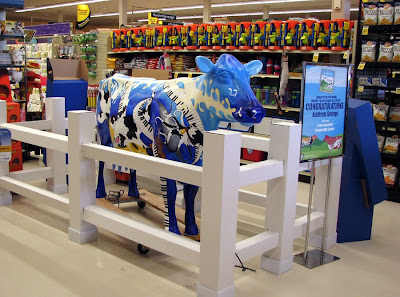 Kathryn George's Moo-sical Cow at Safeway