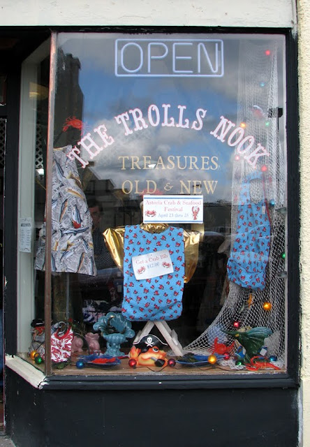 The Trolls Nook Crab and Seafood Decor