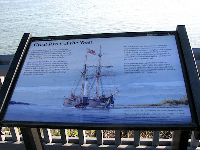 About the Columbia River and some of its ships