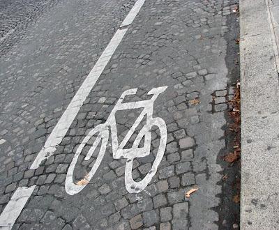 Bike Icon and Cobblestones, Pont Neuf, Paris