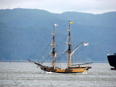 Tall Ship Lady Washington at Astoria, Oregon