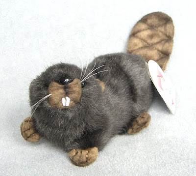 Stuffed Plush Beaver