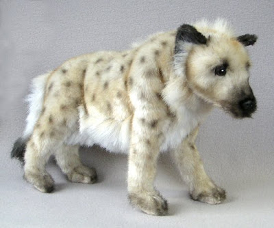 Stuffed Hyena by Hansa