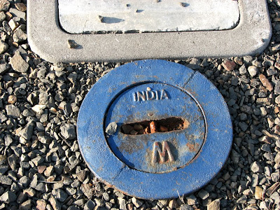 Water Meter or Drain Cover, Made in India, 12th Street