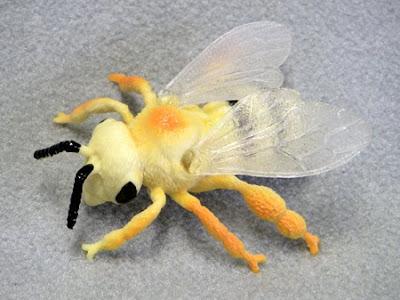 Plastic Honeybee (Bee)