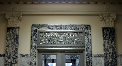 Doorway, U.S. Post Office, Astoria, Oregon