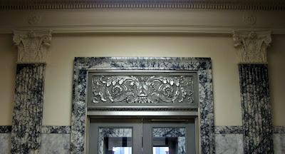 Doorway, U.S. Post Office, Astoria, Oregon