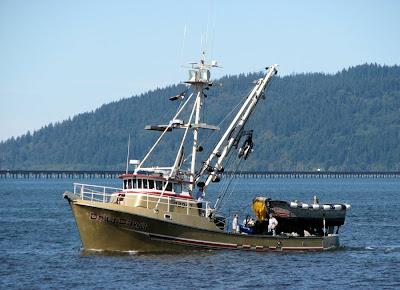 Delta Dawn Fishing Boat, Astoria, Oregon