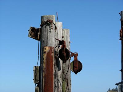 Ruined Ferry Dock, 14th Street, Astoria, Oregon
