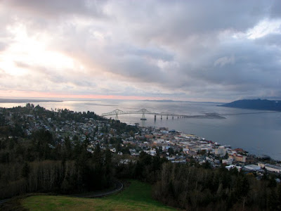 The Astoria-Megler Bridge from the Astoria Column