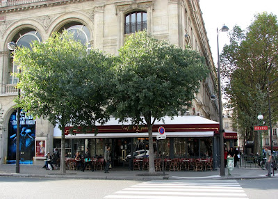 Cafe Le Zimmer and Theatre du Chatelet, Paris