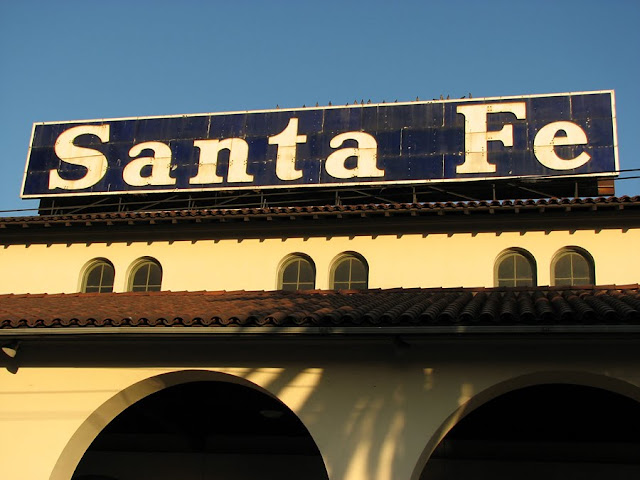Santa Fe Train Station, San Diego, California