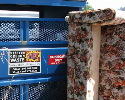 Cardboard Only Dumpster