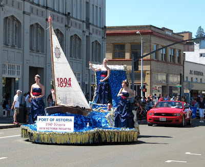 Regatta Parade 2010, Astoria, Oregon