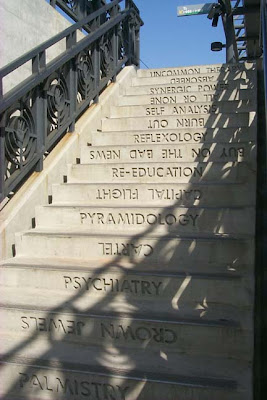 Staircase with Words and Phrases