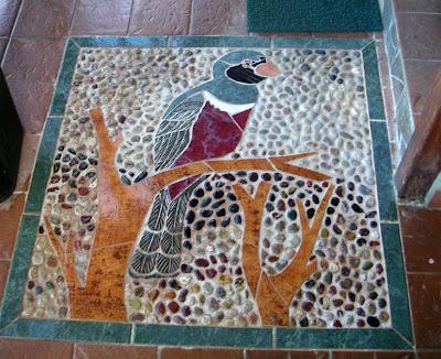 Bird Mosaic, Los Quetzales, Panama