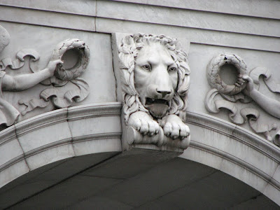 Bas Relief Lion, Marble Arch